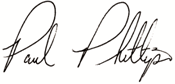 Paul Phillips Signiture